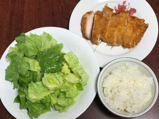 さつき家の夕食