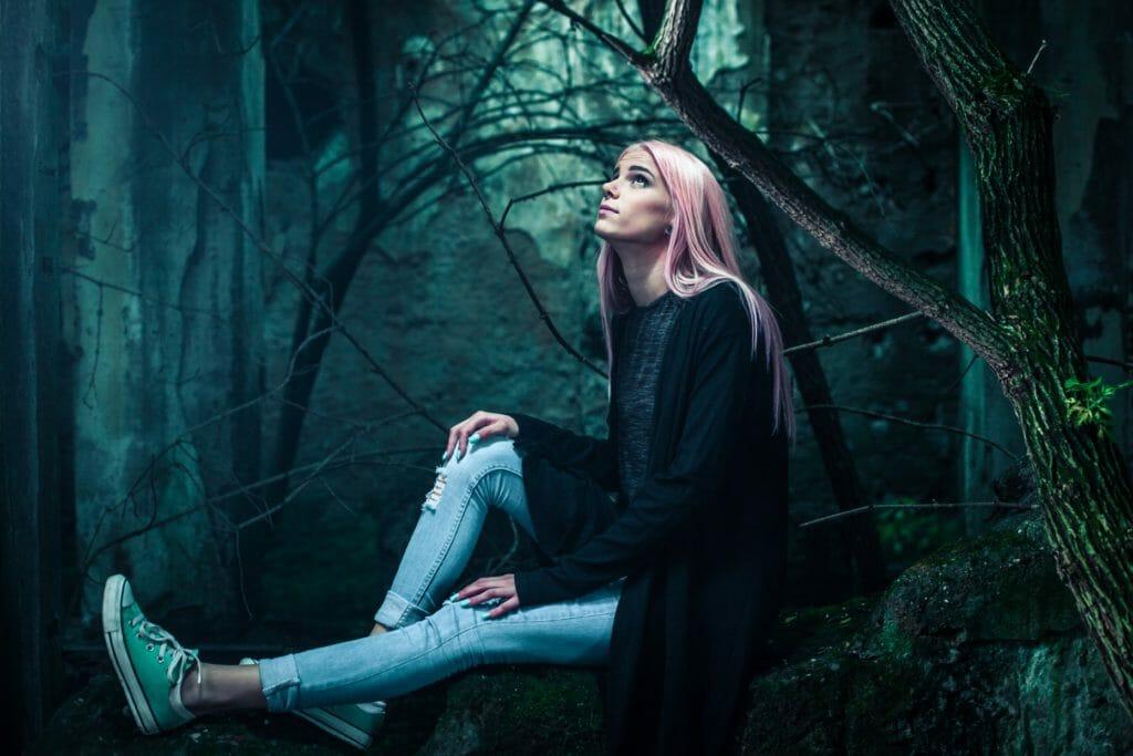 森で独りぼっち